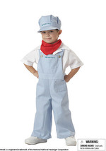 Toddler Boy 3T-4T /NWT Officially Licensed Amtrak Train Engineer Costume - ₨1,892.93 INR