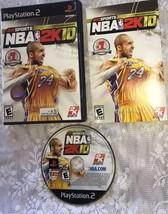 NBA 2K10 - Playstation 2 Game Complete - $7.51