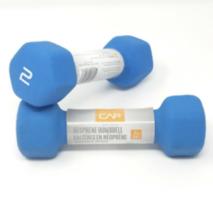 2x NEW CAP 2 lb Dumbbell Set Neoprene Coated Hex Free Weight Dumb Bell 4... - $14.80