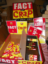 Fact or Crap game: It's Your Call! All pieces i... - $11.55