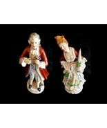 "10"" Colonial Figurines (1940s Occupied Japan) One Pair Rare Man and Woma... - $19.99"