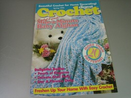 Crochet Digest Magazine - Quick Baby Afghan & More - Spring 1995 - $6.92