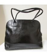 Franklin Covey Black Leather Large Briefcase Laptop Bag - $68.00