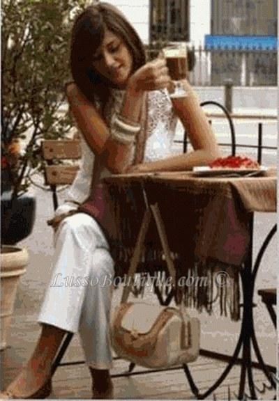 Glitter Swirl Handbag Holder Purse Hook Brown Free Organza Bag
