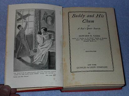 Buddy and his Chums Howard Garis 1930 Juvenile Series Book