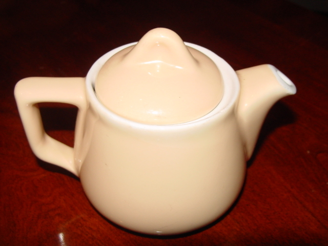 HALL CHINA TINY SUPER CERAM TEAPOT