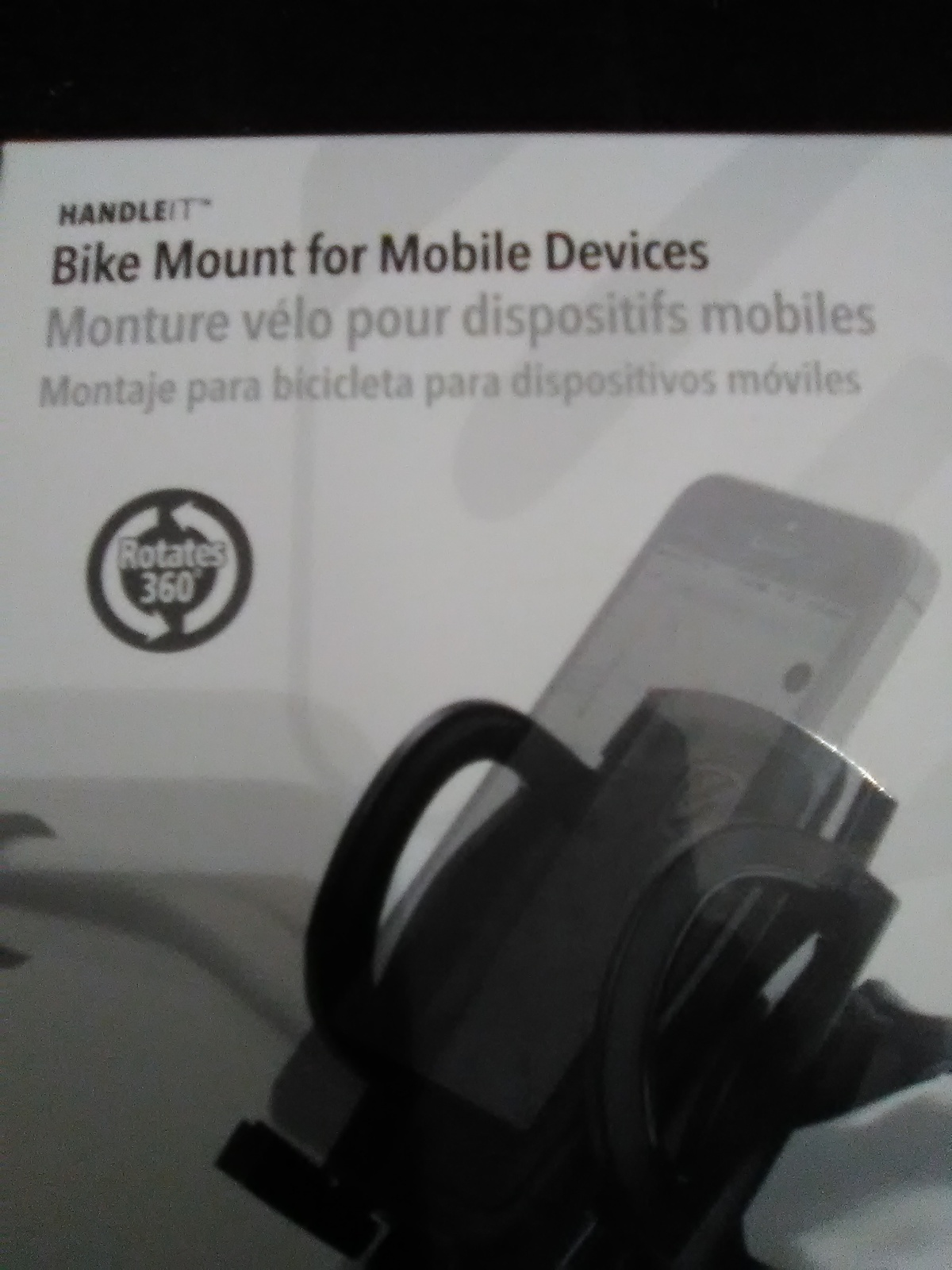 Handle It Bike Mount for Mobile Devices
