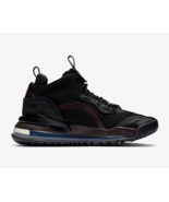 Nike Men's Futuristic Air Jordan Aerospace 720 Shoes in Black UK 9 - $216.03