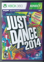 Just Dance 2014 (Microsoft Xbox 360, 2013) (w/ Manual)  - $13.98