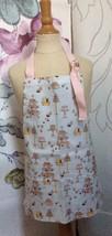 Girls C UPC Ake Cake Pastries Apron Toddler Wipe Off Baking Sweet Shop Now Designs - $19.22