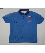 Barney The TV Dinosaur WorkShop Size 5T Blue Shirt - $5.99