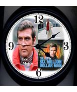 Six Million Dollar Man Wall Clock - $19.95