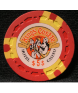 "$5.00 Casino Chip From: ""Kings Castle Hotel & Casino"" - (sku#2251) - $10.30"