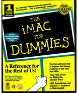 The iMac for Dummies by David Pogue (1998, Paperback) - $8.95