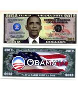 BARACK OBAMA  FEDERAL OBAMA NOTE 2012 - $2.00
