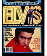 Elvis Presley Photoplay Magazine 1982 Tribute to Films - $10.00