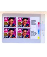 Block of 29 cent Elvis Unused Stamps - $5.95