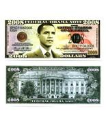 BARACK OBAMA  FEDERAL OBAMA NOTE 2008 - $2.00