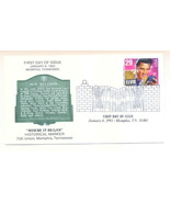 First Day Cover with Elvis Stamp - $5.95