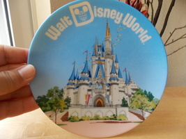 Walt Disney World Cinderella Castle Plate  - $18.00