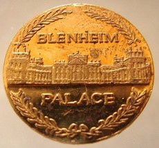 BLENHEIM PALACE TOKEN British Blenheim Palace Baroque architecture celeb... - $4.99