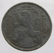 Vintage 1945 Kingdom of BELGIUM 1 Franc zinc Leopold III COIN - $4.99