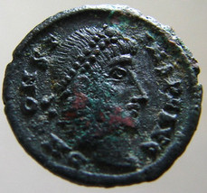Ancient Roman Emperor Constans As Augustus 347 To 348 Ad Cyzicus Mint Ae4 Bronze - $19.99