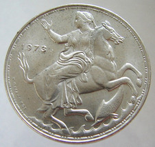 1973 GREEK NYMPH on HORSE 40 Years Old Greece 20 Drachmas King Constantine 2nd A - $14.99