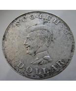 LEATH'S SCOTCH DOLLAR Month Wisconsin Arthur Leath Advertising Trade lar... - $14.99