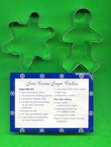 Gingerbreadman Cookie Cutter in box plus recipe - $5.00