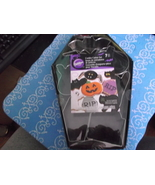Wilton Halloween Cookie Cutters in coffin shaped box NIB - $12.00