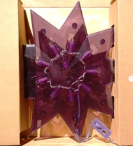 Ikea Glansa Holiday Purple Diamond Star LED Lamp NEW IN BOX - 2007 - $29.95