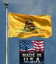 Fabricado EEUU Gadsden Don'T Me Pisan Rebelde en / Exterior Bandera Serp... - $19.94