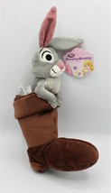 "DISNEY STORE SLEEPING BEAUTY Rabbit in Prince Phillip's Boot 10"" Plush 2... - $34.99"