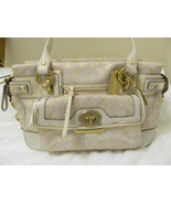 TOP OF THE LINE LEATHER COACH BAG (NEW) GOLDEN GIRL. GET A FREE GIFT!! - $290.00