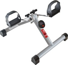 Folding Exercise Bike Stationary Trainer Tabletop Floor Legs Arms Portab... - $47.18
