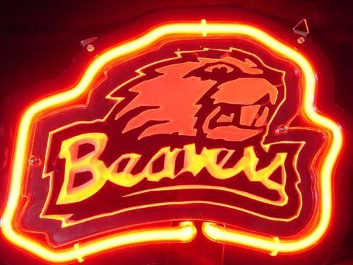 Progress Lighting Lucky Collection 33 56 In 4 Light: NCAA Oregon State Beavers 3D Beer Bar Neon Light Sign 10