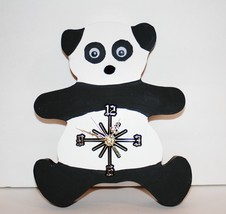Panda Bear Wall Clock with Seiko Battery Movement - $30.00