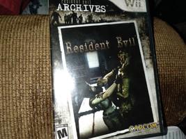 Nintendo Wii Resident Evil Archives: Resident Evil image 1