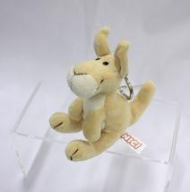 NICI Kangaroo Brown Plush Stuffed Animal Bean Bag Key Chain Keyring 4in. - $9.50