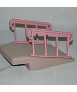 Vintage Little Tikes Dollhouse Wheelchair Ramp Wheel Chair Ramp Only - $19.99