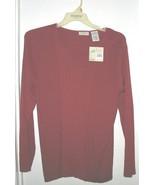 White Stag Long-Sleeve V-Neck Sweater - $10.00