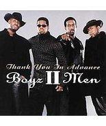 Boyz II Men  (Thank You in Advance) CD SINGLE - $1.98