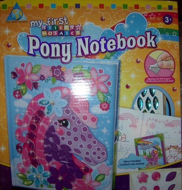 Pony notebook  612x640