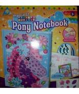 My First Sticky Mosaics Pony Notebook 250 + Pieces Jewels Story Journal NEW - $12.00