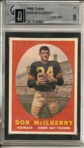 1958 Topps #71 Don McIlhenny RC Rookie GAI 8 NM MT - $81.68