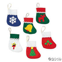 1 X Mini Holiday Stockings - Party Themes & Events & Christmas Stockings - $8.36
