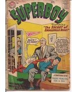 DC Superboy #55 Superboy Jimmy Olsen Visit Secret Of Smallville High Lan... - $15.95