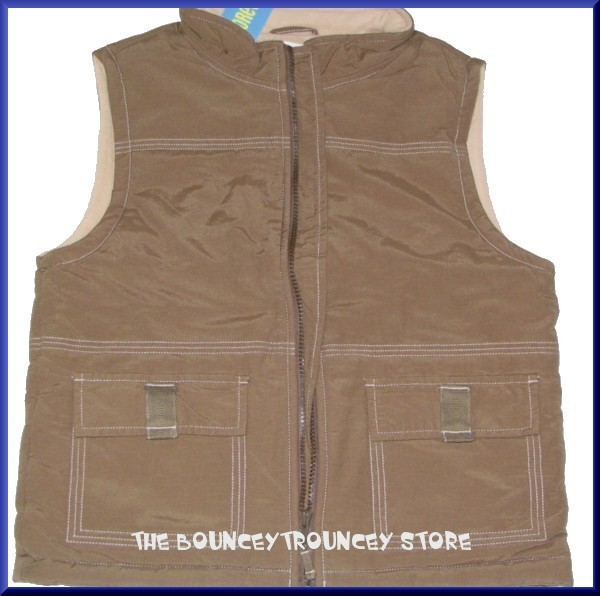 NWT Gymboree American Heritage QUILTED VEST XS 3 4 year