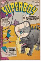 DC Superboy #87 The Thought Monster From Krypton Krypto's Sweetheart Sma... - $24.95